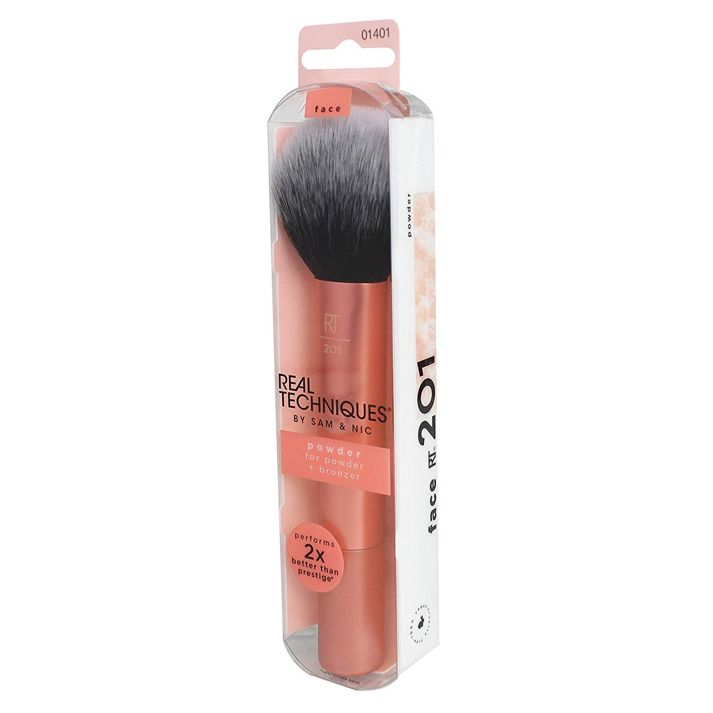 Powder & Bronzer Brush Helps Build Smooth Even Coverage