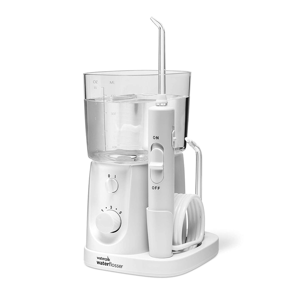 Waterpik Water Flosser For Teeth, Portable Electric For Travel and Home - Nano Plus, WP-320