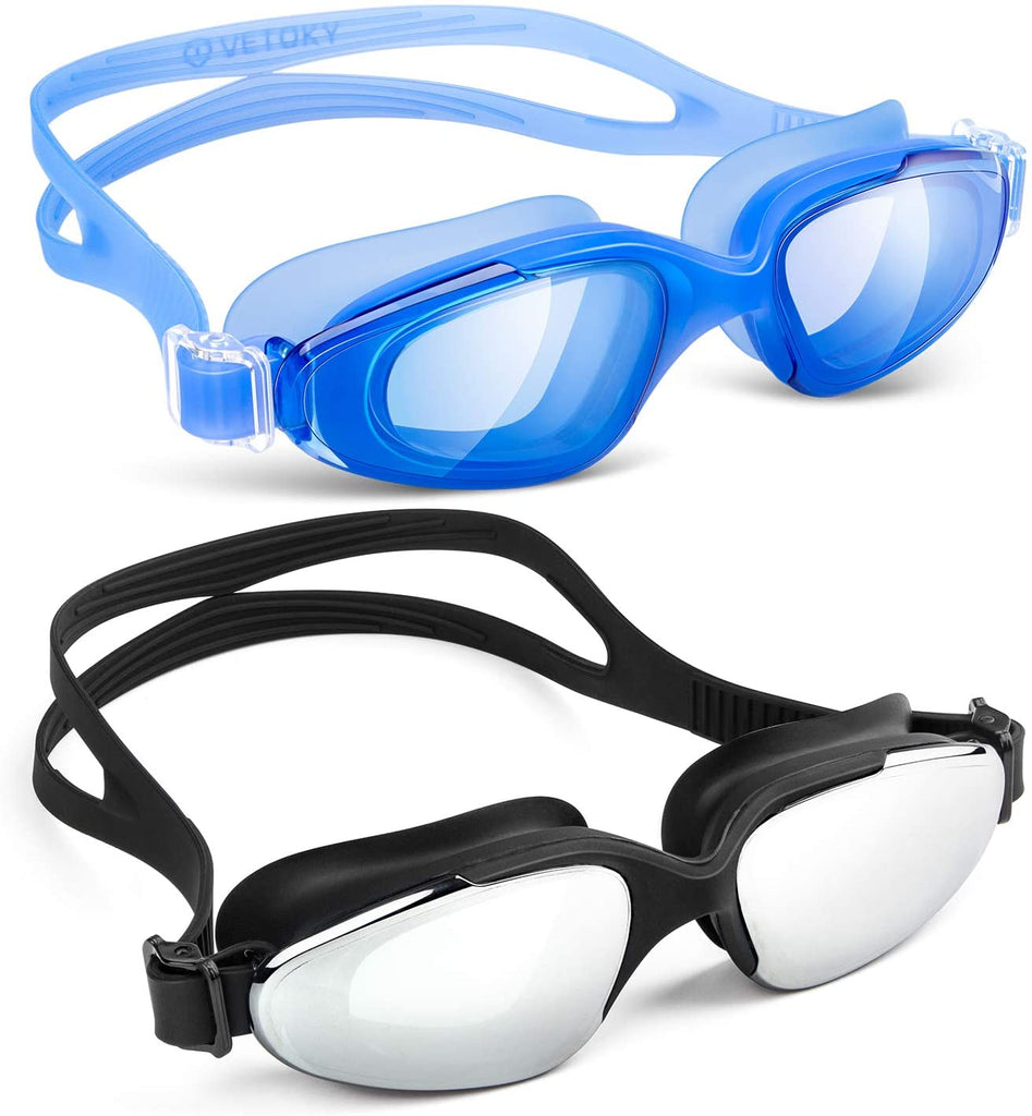 Swimming Goggles,Swim Goggles No Leaking Anti Fog UV Protection for Adult Men Women Youth Kids