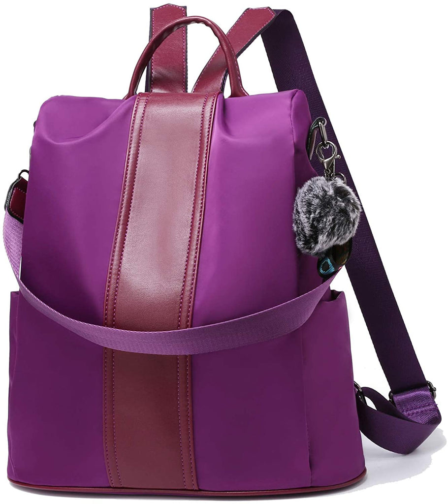 TcIFE Backpack Purse for Women Fashion School Purse and Handbags Shoulder Bags Nylon Anti-theft Rucksack