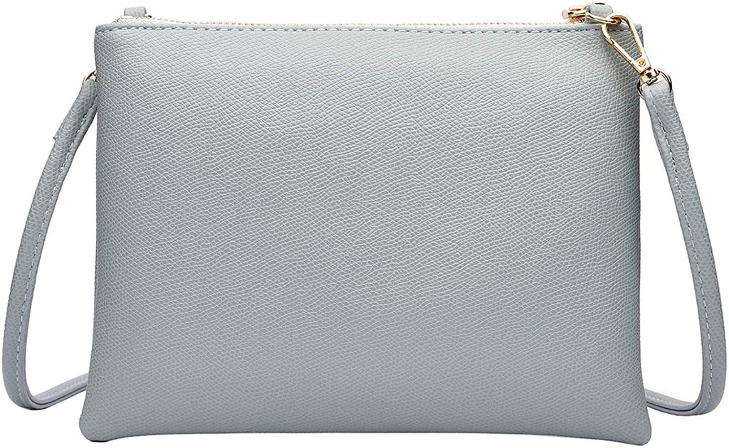 Crossbody Bag for Women, Small Shoulder Purses and Handbags Lightweight Vegan Leather Wallet