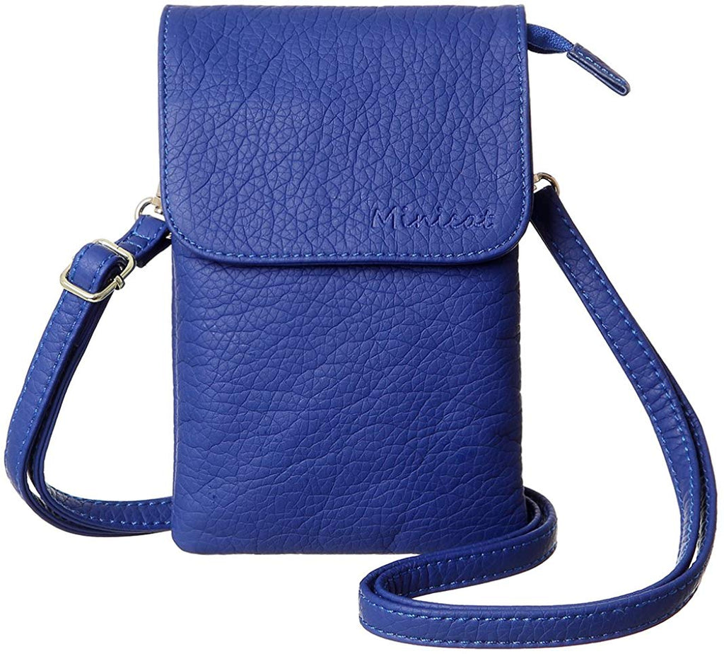 Roomy Pockets Series Small Crossbody Bags Cell Phone Purse Wallet for Women