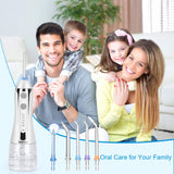 Cordless Water Flosser with 30 Days Battery Life, Premium Water Floss for Teeth, Portable Dental Flosser in 5 Modes, Gravity Ball for Upside Down Use