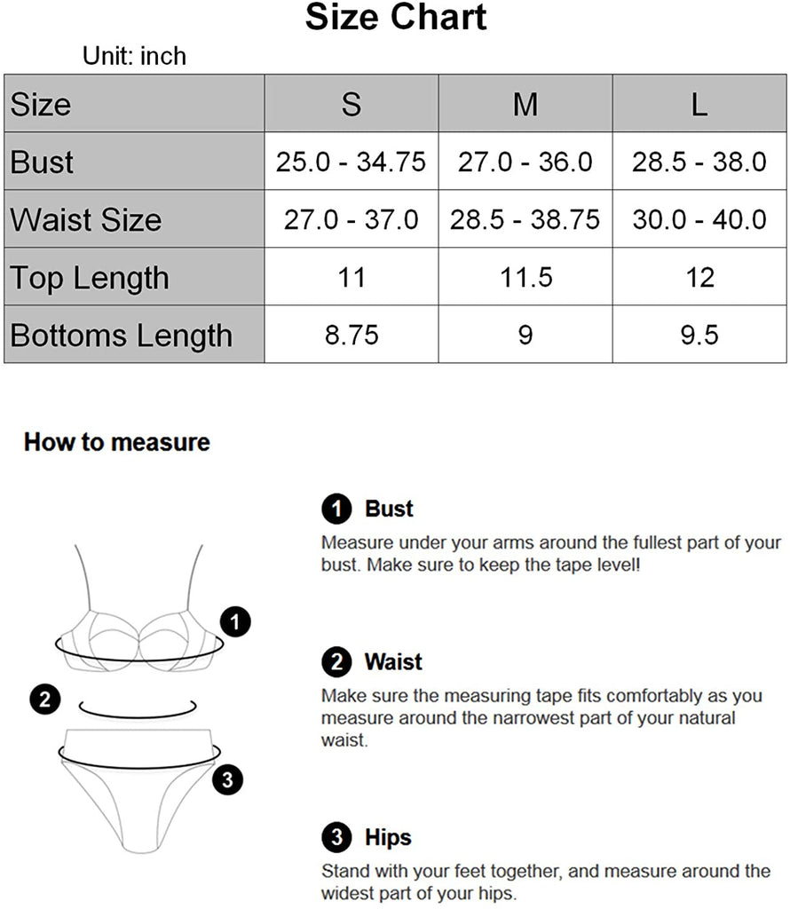 Two Pieces Swimsuit Bikini Set Women's Sexy Triangle Bathing Swimsuit