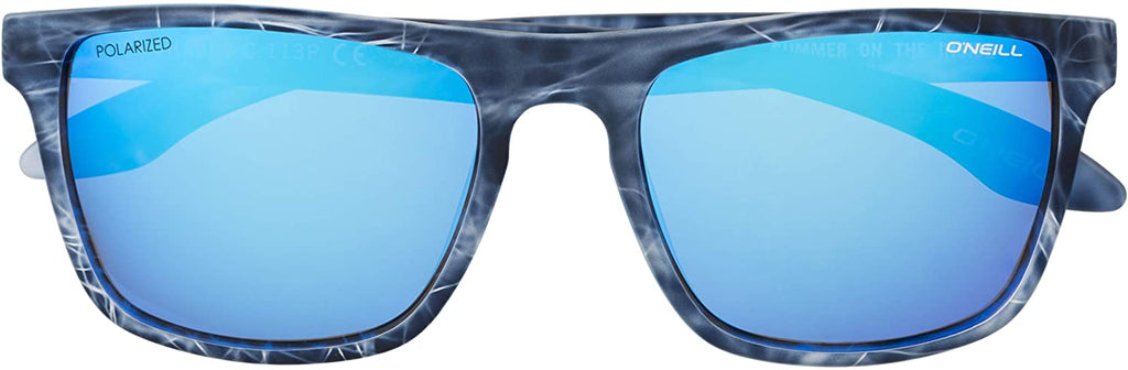 Polarized Sunglasses, Matte Blue Water