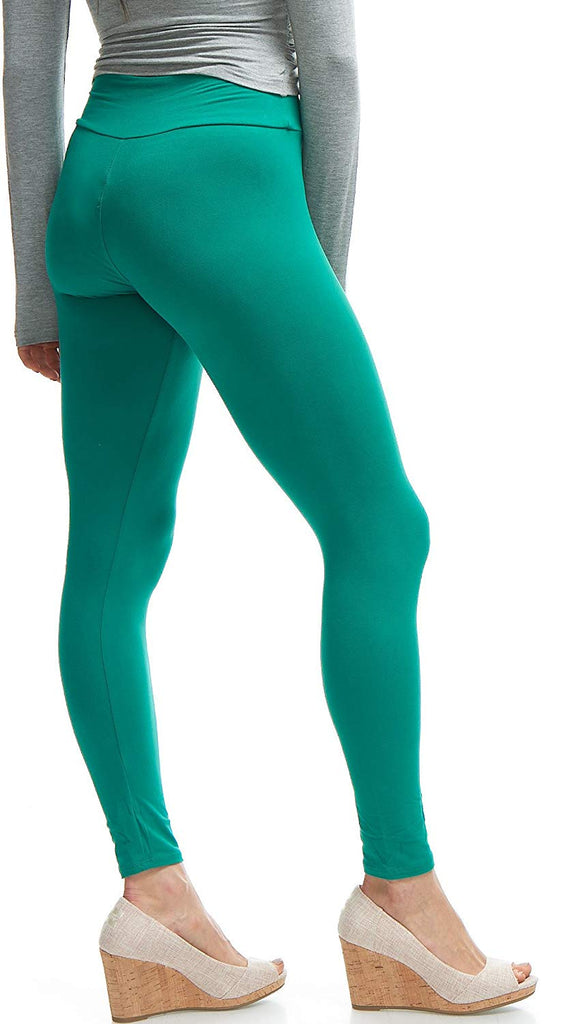 women's Quality High Waisted Leggings - Workout & Yoga Pants Plus