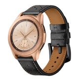 Quick Release Leather Watch Band Top Grain Leather Watch Strap for Men and Women