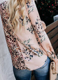Women Summer Sleeveless V Neck Boho Floral Printed Tank Tops