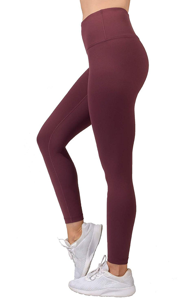 Reflex Ankle Length High Waist Power Flex Leggings - 7/8 Tummy Control Yoga Pants