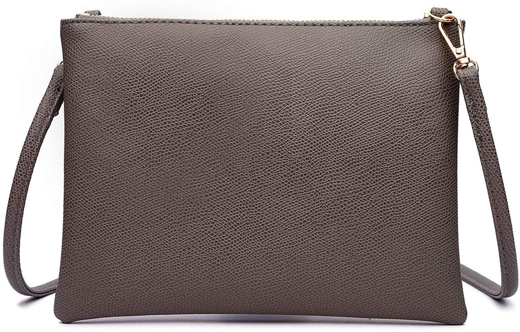 Small Shoulder Purses and Handbags Lightweight Vegan Leather Wallet with Detachable Strap
