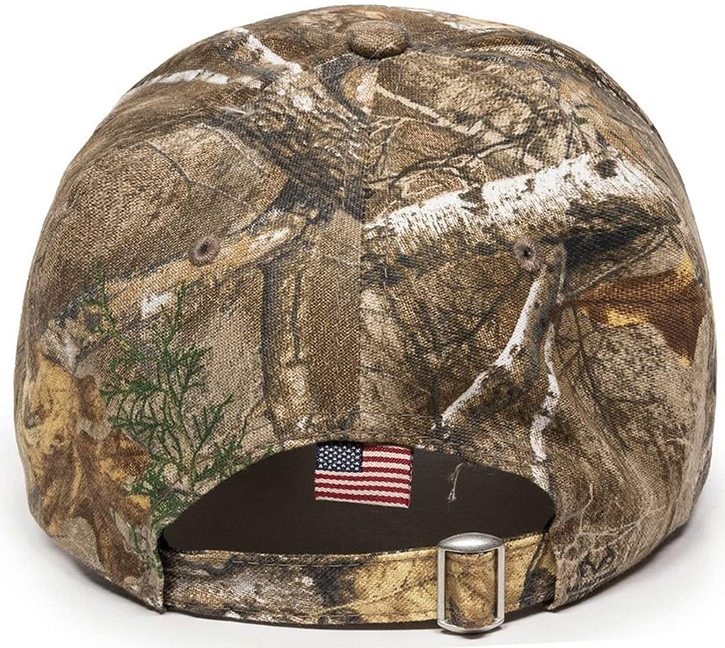 No Bull$hit Embroidered Real Tree CWF305 Camo Structured Adjustable One Size Fits All Hat