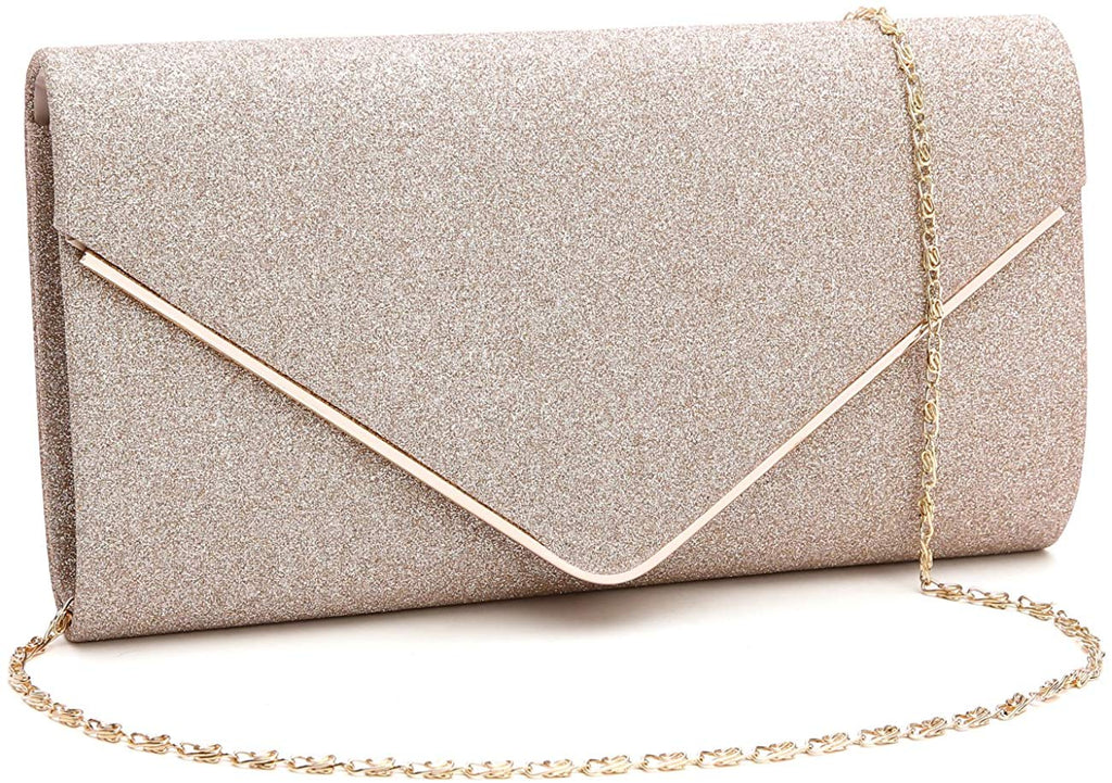 Shining Envelope Clutch Purses Evening Bag Handbags For Wedding and Party for women