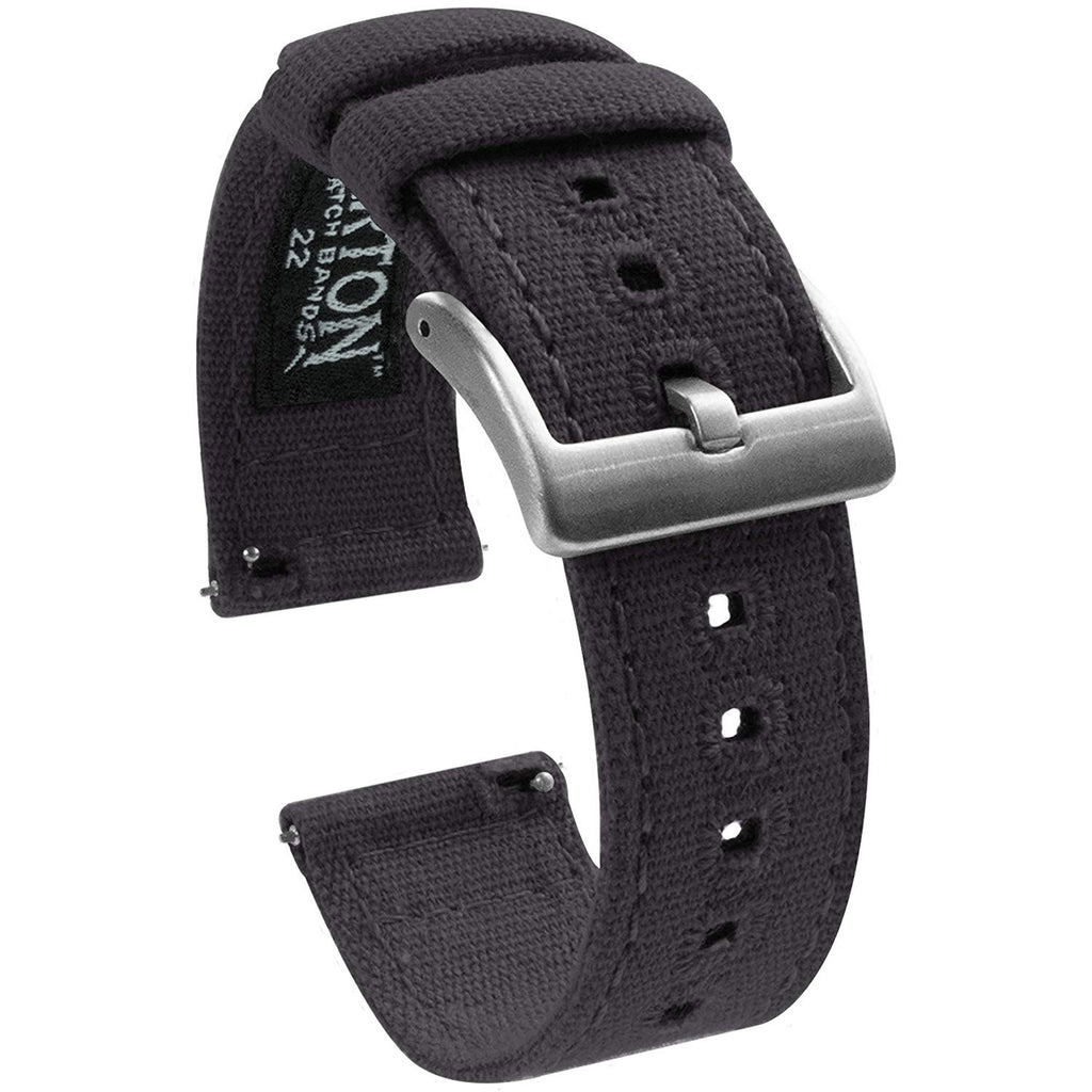 Watch Bands - Canvas Quick Release Watch Straps