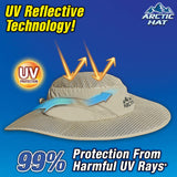 Hat Evaporative Cooling Hat with UV Protection As Seen On TV