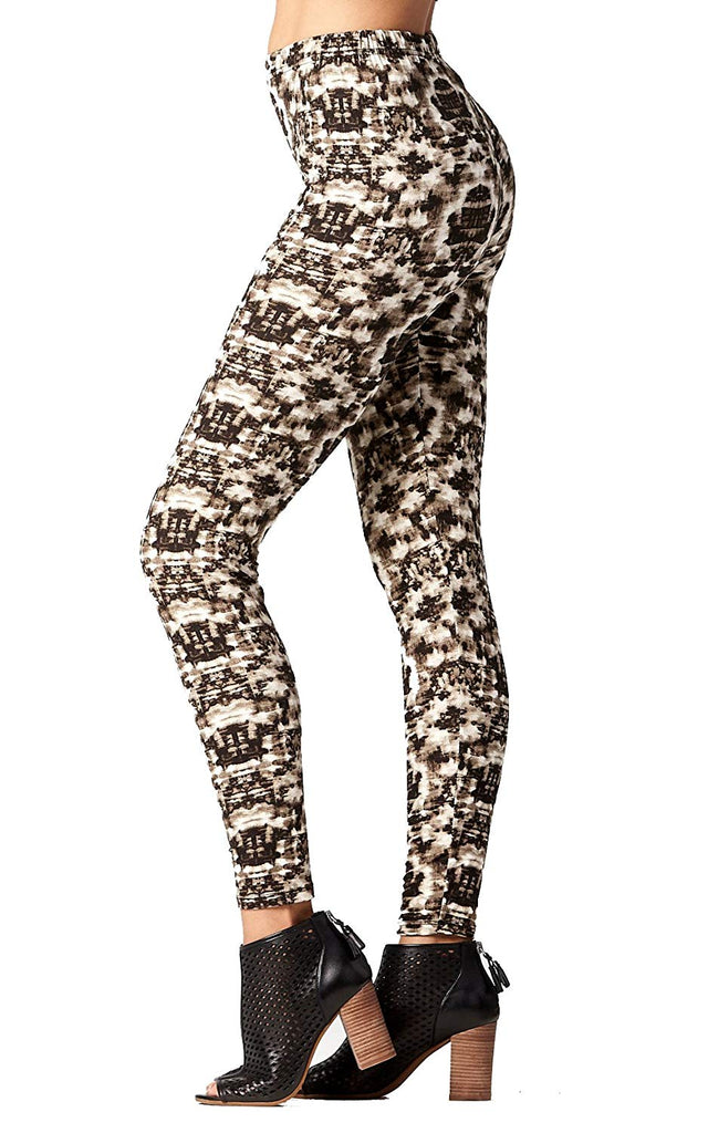 Premium Ultra Soft High Waisted Leggings for Women - Regular and Plus Size - Many Colors and Prints