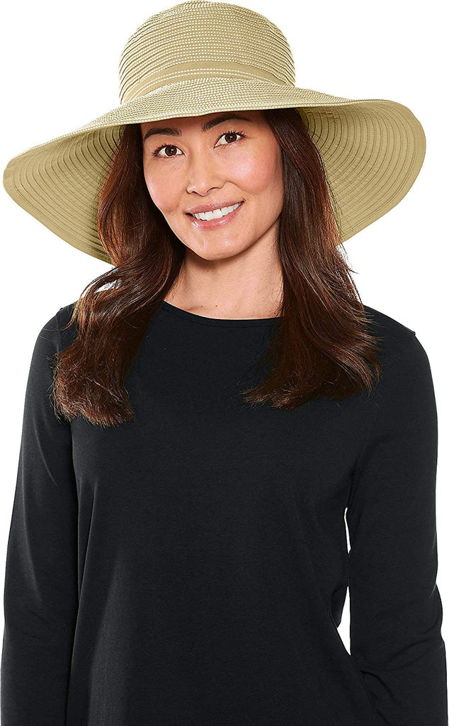 UPF 50+ Women's Reversible Zoey Ribbon Hat - Sun Protective