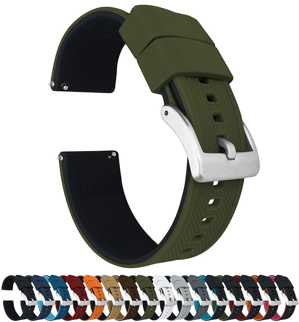 Watch Bands - Elite Silicone Watch Straps