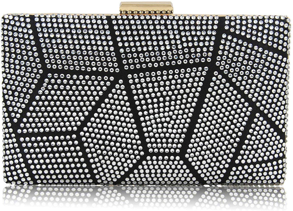 Clutches Bag for Women, Crystal Sparkly Evening Clutch Bag Rhinestone Glitter Clutch Purse