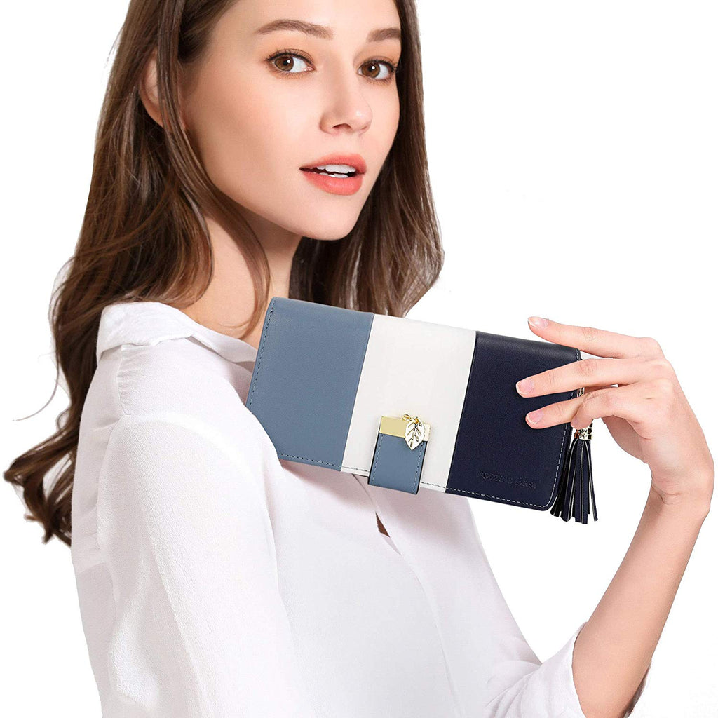 Wallets for Women with Multiple Card Slots and Roomy Compartment