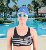 Swim Goggles, Pack of 2 Swimming Goggles, Swim Glasses No Leaking Anti Fog UV Protection