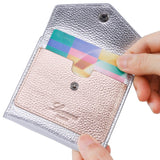 Women's Small Compact Mini Bifold Credit Card Holder Leather Pocket Wallets