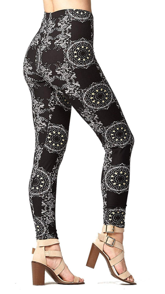 women'sPremium Ultra Soft High Waisted Leggings- Regular and Plus Size