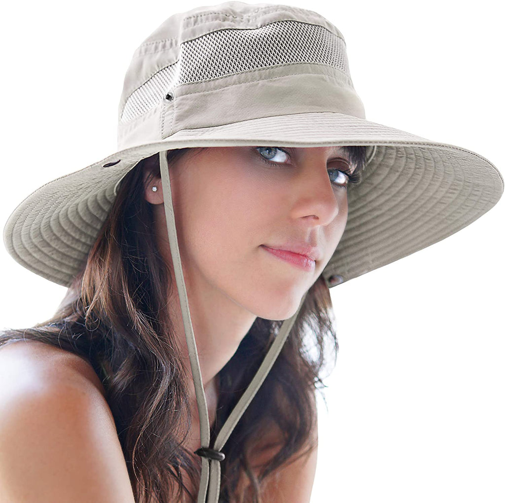 Fishing Hat and Safari Cap with Sun Protection | Premium UPF 50+ Hats for Men and Women