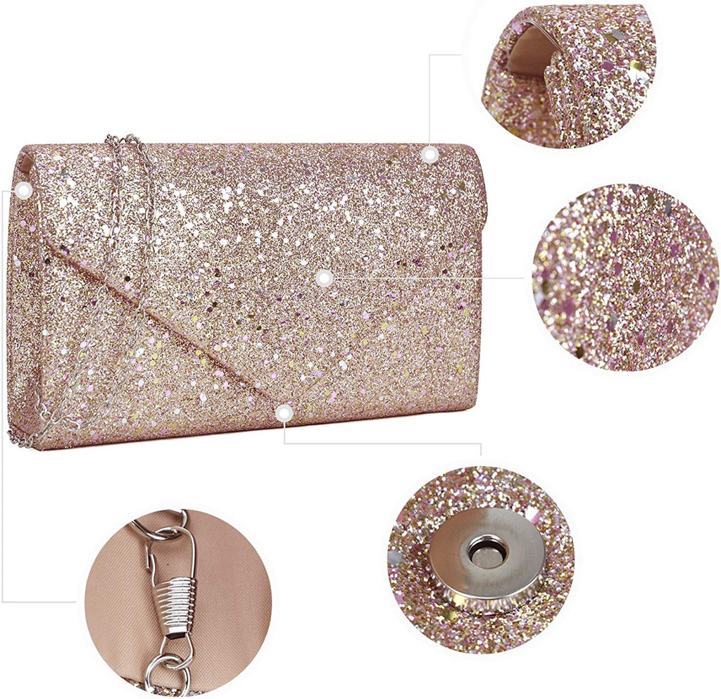 Women  Evening Clutch Bags Formal Party Clutches Wedding Purses Cocktail Prom Clutches