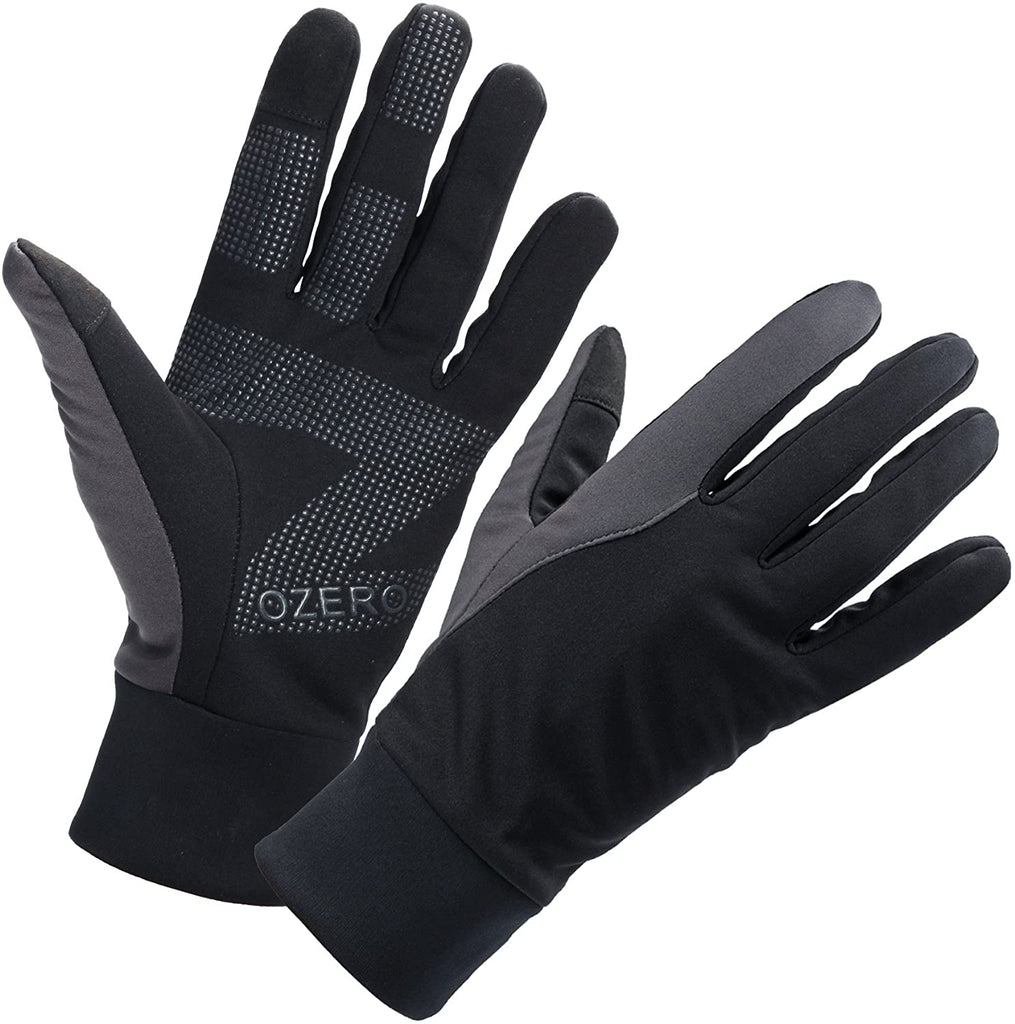 Mens Winter Thermal Gloves Touch Screen Glove Water Resistant Windproof Warm for Driving Cycling Running