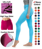 Quality High Waisted Leggings for Women - Workout & Yoga Pants Plus