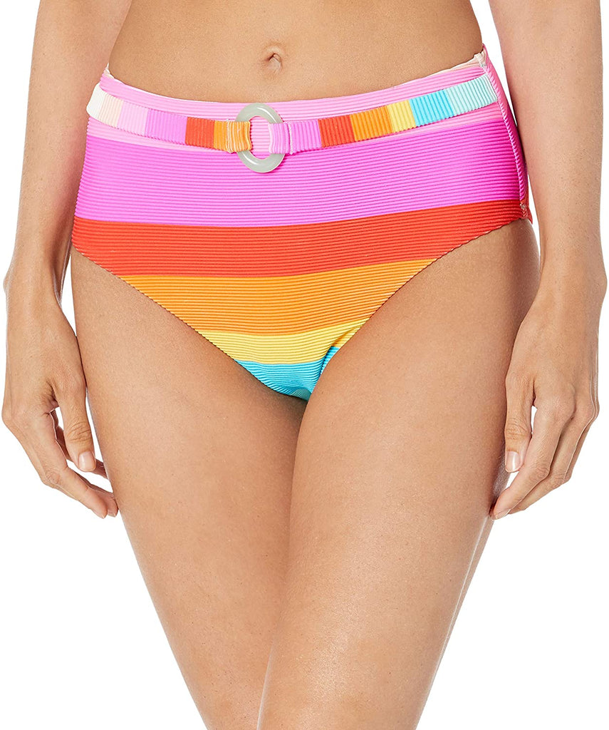 Women's High Waist Hipster Bikini Swimsuit Bottom