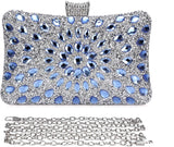 Evening Bags and Clutches for Women Crystal Clutch Beaded Rhinestone Purse Wedding Party Handbag