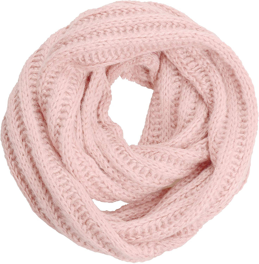 Women's Men Thick Winter Knitted Infinity Circle Loop Scarf