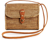 Bags for Women - Handmade Wicker Woven Purse Handbag Circle Boho Bag Bali