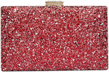 Purse Elegant Glitter Evening Bags Bling Evening Handbag for Dance Wedding Party Prom Bride