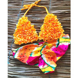 brazilian sexy thong bikini set swim wear women 2019 bikinis mujer bathing suit biquini floral swimming suit for girls swimsuit