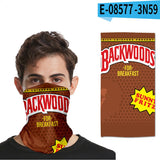 3D BACKWOODS Cigar Magic Turban Mask Face Towel Fashion Outdoor Mask Scarves Seamless Hairband Head Scarf Bandana Neck Cover