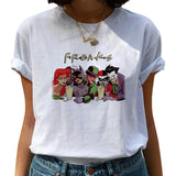 Women Joaquin Phoenix Harajuku Chucky Horror Tshirt Female Funny Joker T Shirt Ulzzang Cartoon T-shirt Graphic Fashion Top Tee