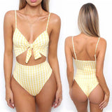 2018 New Summer Sexy Women One Piece Hollow Out Push-up Padded Bra Monokini Swimsuit Swimwear Bather Suit Swimming Suit