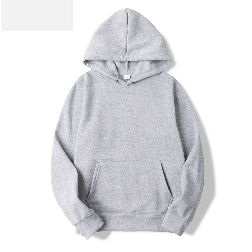 Fashion Brand Men's Hoodies Spring Autumn Male Casual Hoodies Sweatshirts Men's Solid Color Hoodies Sweatshirt Tops