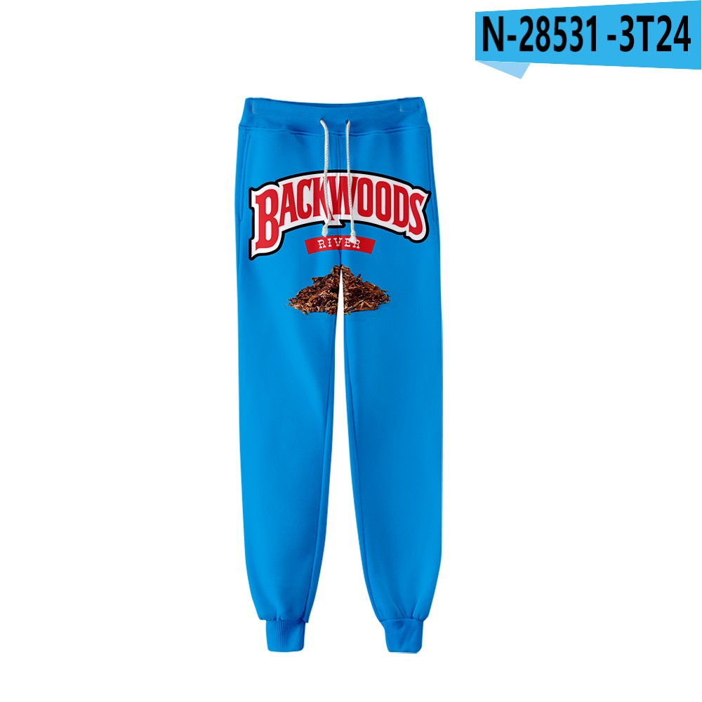 Backwoods Sweatpants Men Women 3d Print Fashion Hip Hop Sport Jogger Harem Pant Casual Long Loose Cool 3D Trousers Fitness Pants