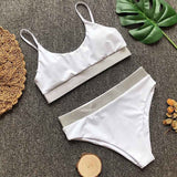 large size push up biquine feminino  high waist swimsuits women bikini bottoms brazilian swimwear bikinis maillot de bain