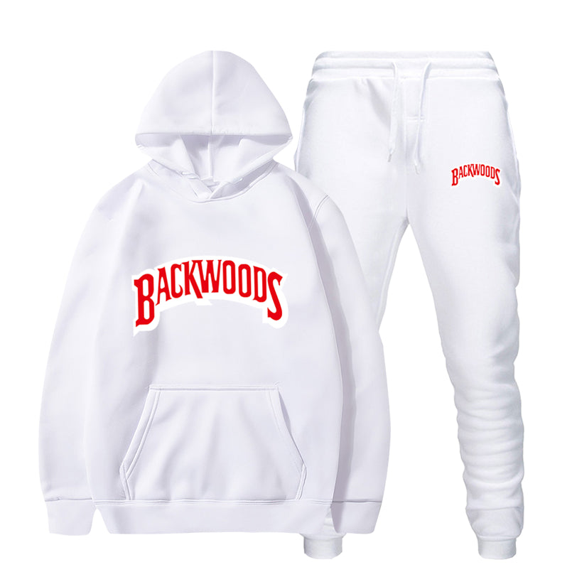 Backwoods Hoodie Sweatshirts Sweatpants Suits Pullover Mens Sports Sweatsuits 2 Piece Outfits