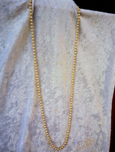 Vintage Champagne Faux Pearl Strand