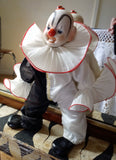 Vintage Semi Porcelain Clown