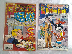 Two Richie Rich Harvey Comics - one Collector Edition - 1980's