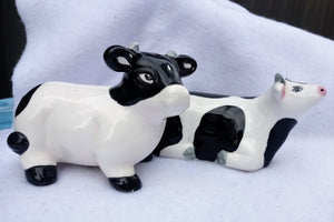 Odd Cow Salt and Pepper Shakers