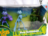 Disney's A Bug's Life Bug Battalion Figures New Boxed Boxed set of three