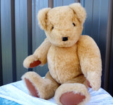 1990's Large Handmade Teddy Bear