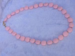Children's Pink and Gold Necklace